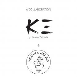 K三 by Kenzo Takada x  Jacques Herbin  Soon available on k-3.com  @jacquesherbin.official  #KenzoTakada  #k3 #Ink