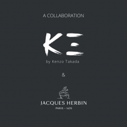 K三  by Kenzo Takada x Jacques Herbin  Soon available on www.k-3.com  @jacquesherbin.official   #KenzoTakada #K3 #ink